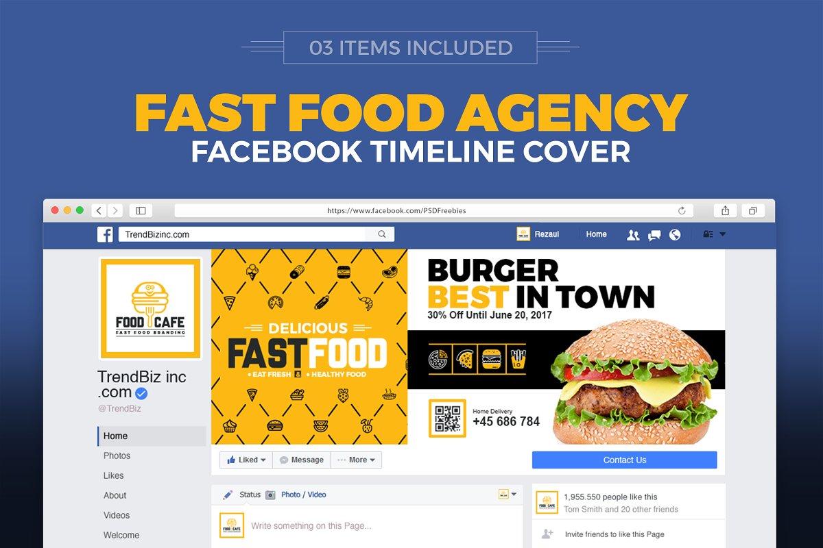 Food Company Social Media Cover