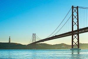 April Bridge, Lisbon, Portugal