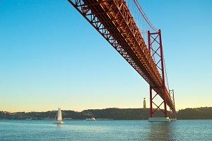 Red bridge, Lisbon