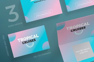 Business Cards | Tropical Cruises