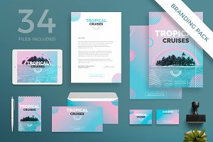 Branding Pack | Tropical Cruises