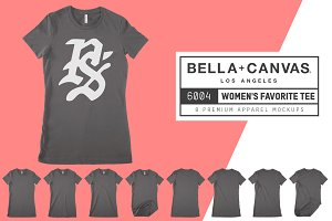 Bella Canvas 6004 Women's Favorite T