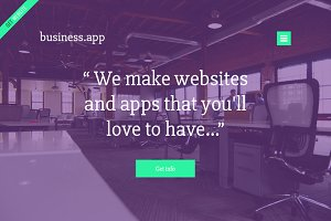 Business.app - PSD Template