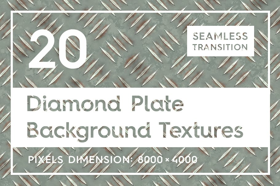 20 Diamond Plate Background Textures in Textures