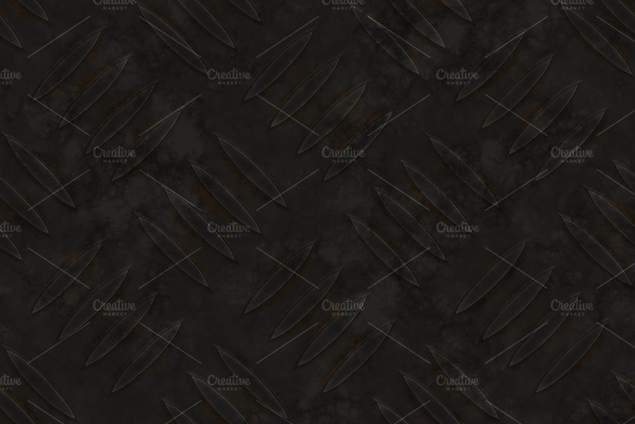 20 Diamond Plate Background Textures in Textures - product preview 1