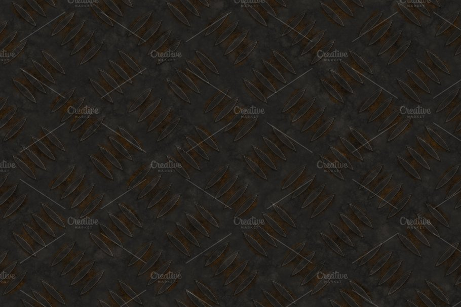 20 Diamond Plate Background Textures in Textures - product preview 6