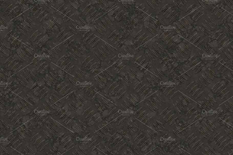 20 Diamond Plate Background Textures in Textures - product preview 10