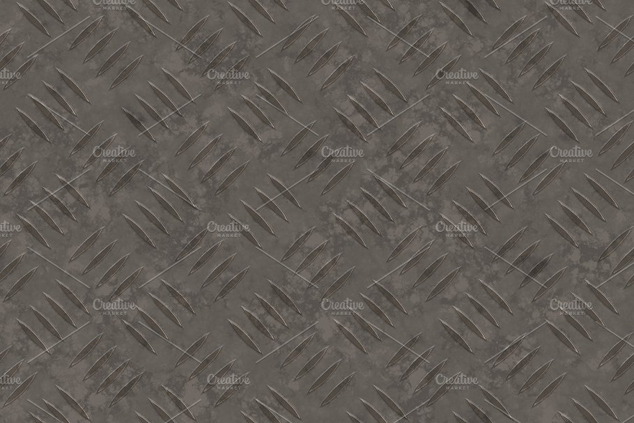 20 Diamond Plate Background Textures in Textures - product preview 12