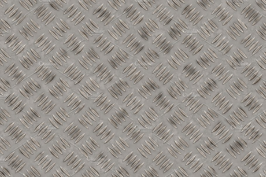20 Diamond Plate Background Textures in Textures - product preview 16
