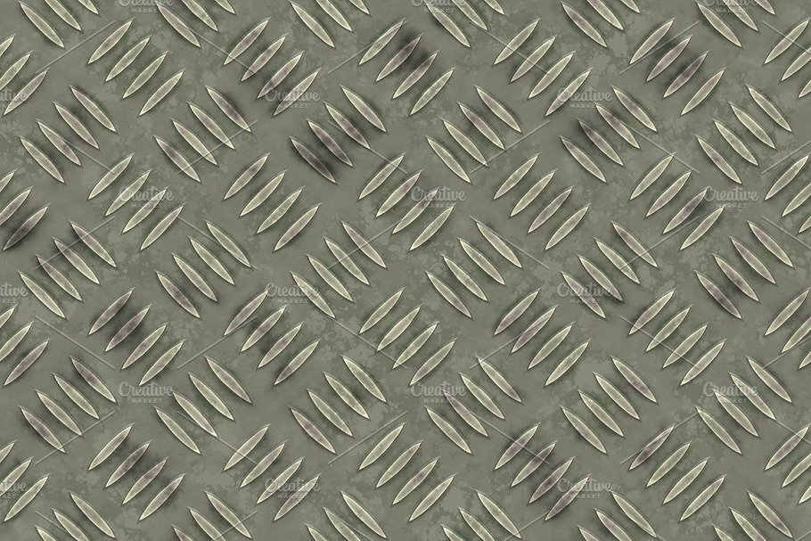 20 Diamond Plate Background Textures in Textures - product preview 20