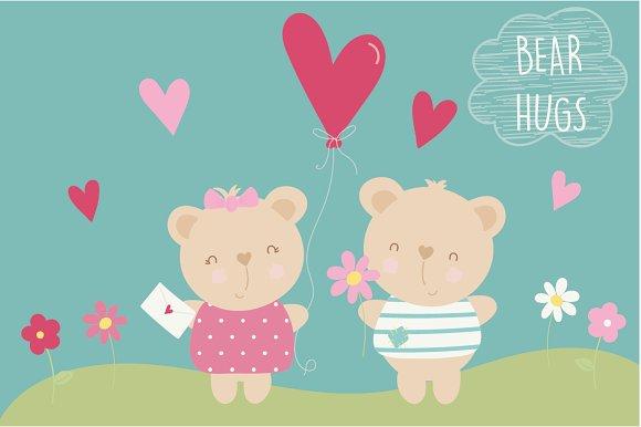 Bear Hugs in Objects