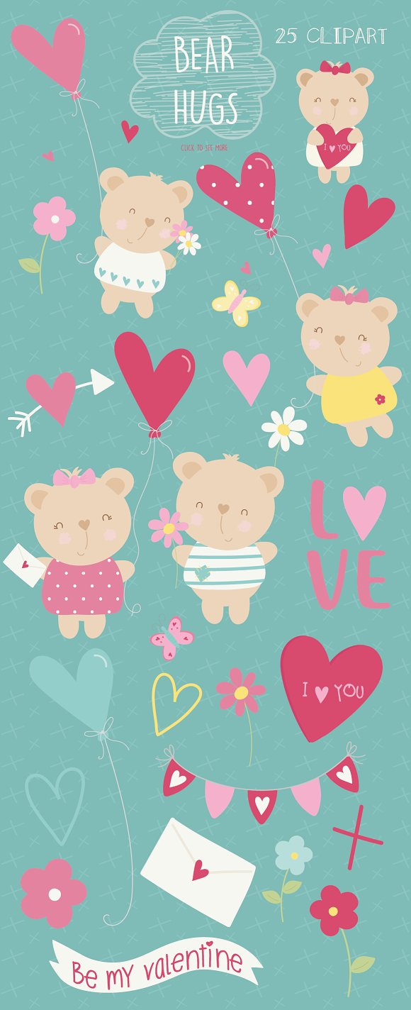 Bear Hugs in Objects - product preview 1