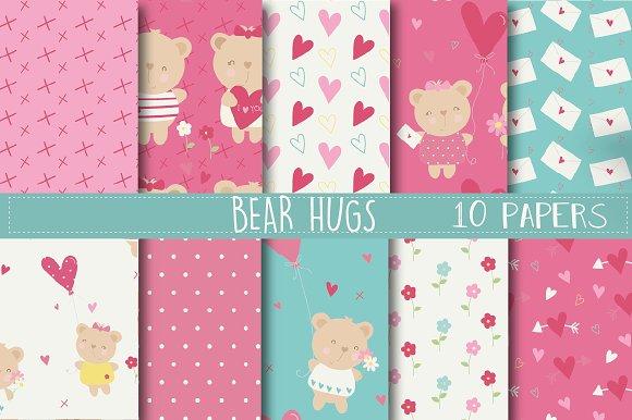 Bear Hugs paper in Patterns