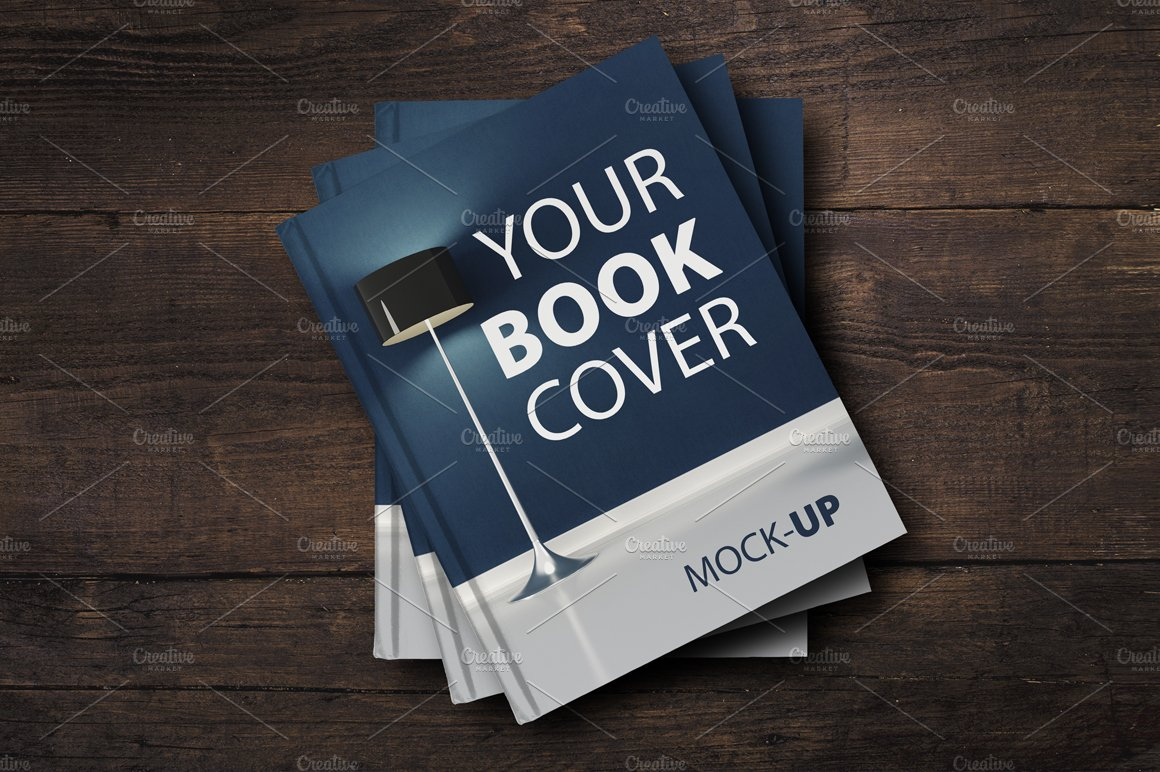 D Book Cover Template Psd : Sale book cover mockup product mockups creative market