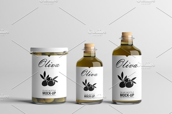 [-33%] Oil Package Mock-Up Bundle #2 in Product Mockups - product preview 1