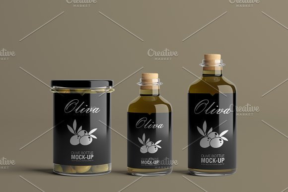 [-33%] Oil Package Mock-Up Bundle #2 in Product Mockups - product preview 2