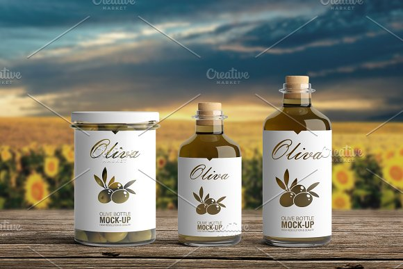 [-33%] Oil Package Mock-Up Bundle #2 in Product Mockups - product preview 3