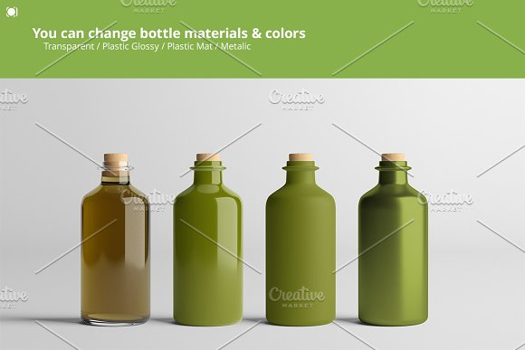 [-33%] Oil Package Mock-Up Bundle #2 in Product Mockups - product preview 4