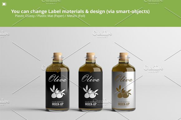 [-33%] Oil Package Mock-Up Bundle #2 in Product Mockups - product preview 5