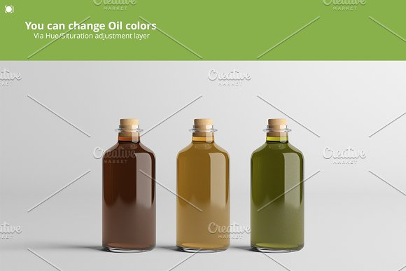 [-33%] Oil Package Mock-Up Bundle #2 in Product Mockups - product preview 6