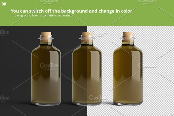 [-33%] Oil Package Mock-Up Bundle #2 in Product Mockups - product preview 8