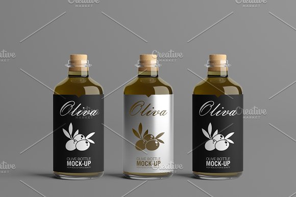 [-33%] Oil Package Mock-Up Bundle #2 in Product Mockups - product preview 14
