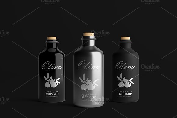 [-33%] Oil Package Mock-Up Bundle #2 in Product Mockups - product preview 15