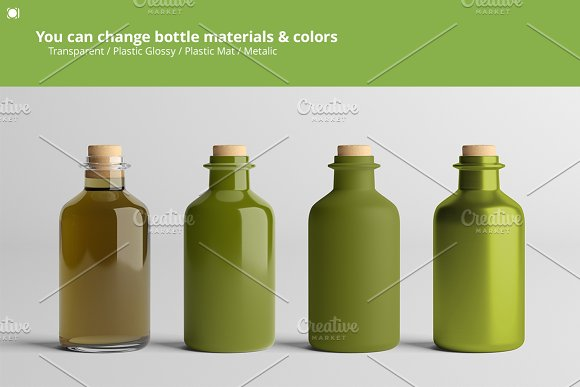 [-33%] Oil Package Mock-Up Bundle #2 in Product Mockups - product preview 16