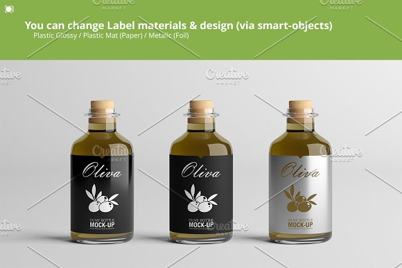 [-33%] Oil Package Mock-Up Bundle #2 in Product Mockups - product preview 17