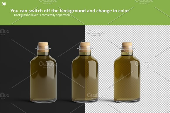 [-33%] Oil Package Mock-Up Bundle #2 in Product Mockups - product preview 20
