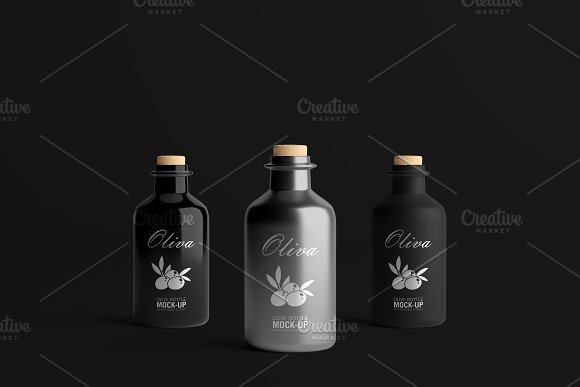 [-33%] Oil Package Mock-Up Bundle #2 in Product Mockups - product preview 27