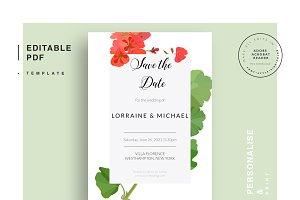 Wedding editable PDF template