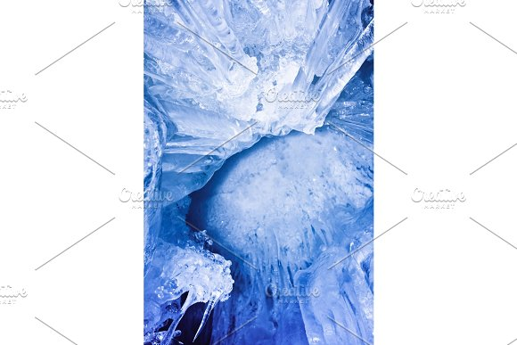 blue icicles in Graphics