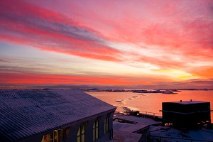 Residential building in Antarctica
