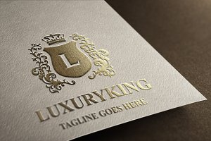 Luxury King - Letter L Logo