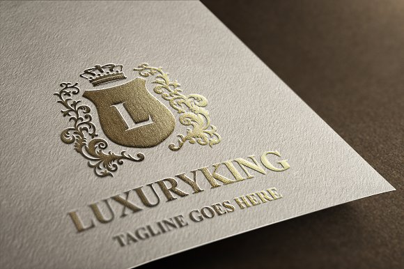 Luxury King Letter L Logo