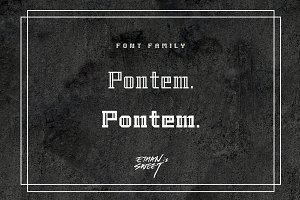Pontem family (5 style) - *50% off