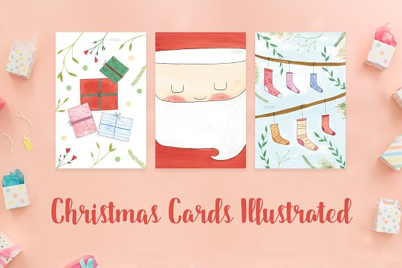 Christmas Cards Illustrated