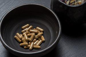 Herbal capsules and herbs