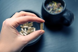 Herbal capsules and herbs