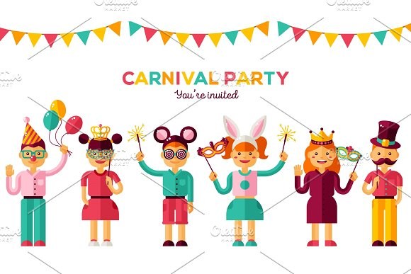 Children carnival party