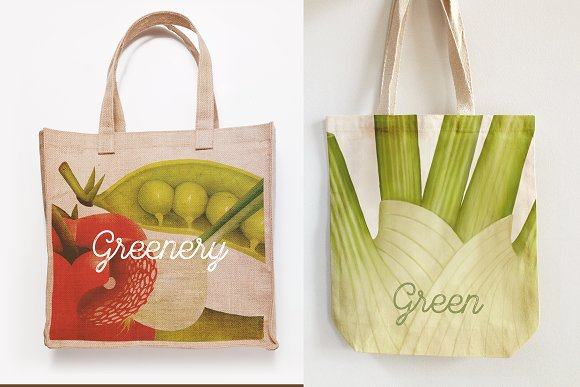 Huge hand drawn vegetables in Illustrations - product preview 9