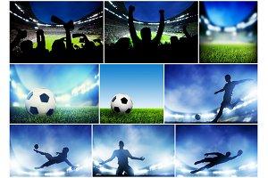 Soccer / Football images bundle