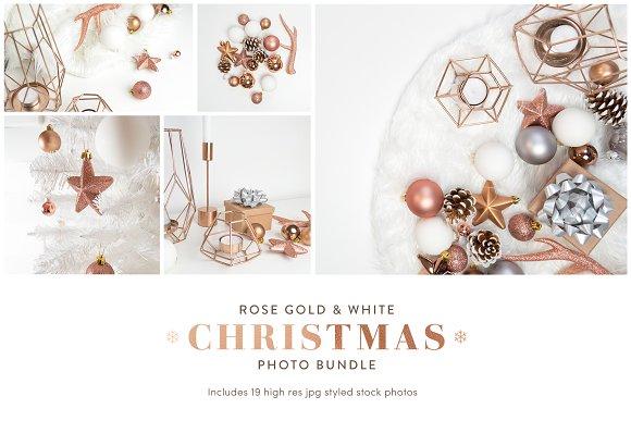 Christmas Styled Stock Photo Bundle in Product Mockups