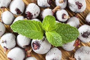 frozen berry