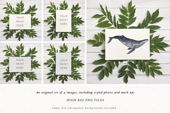 Floral Mock Up | Flatlay | Stock in Print Mockups