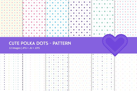 Cute Polka Dots in Graphics