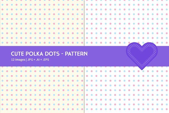 Cute Polka Dots in Graphics - product preview 3
