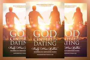 God Centered Dating Church Flyer