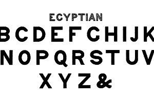 Egyptian fonts of alphabets (PSD)